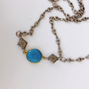 Vanessa Mooney Turquoise Body Chain